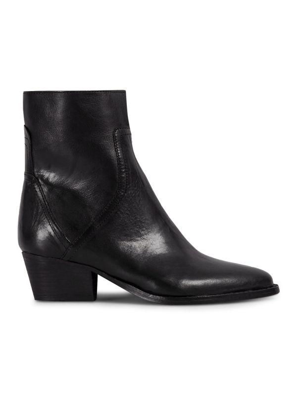 Womens Beryl Black Boot Side