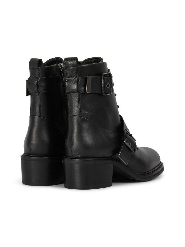 Womens Stanton Black Boot Detail