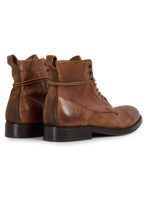 Mens Yew Tan Boot Detail