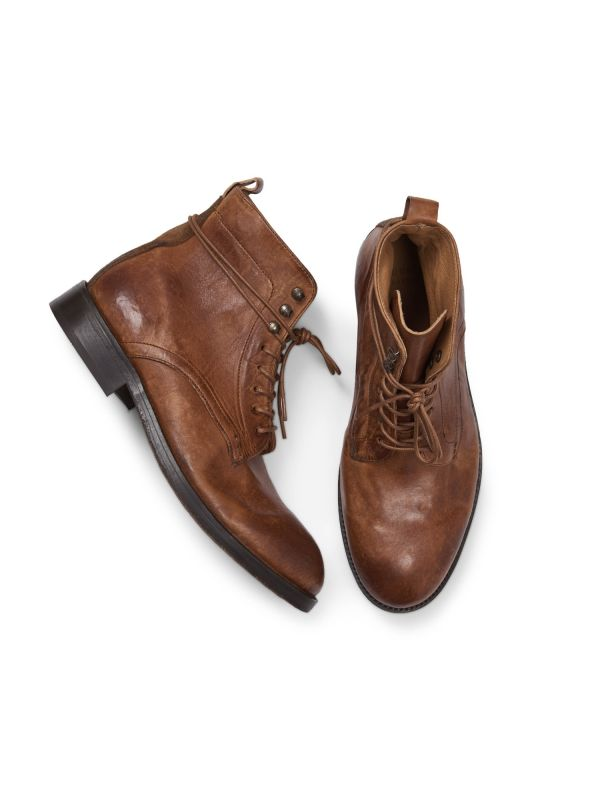 Mens Yew Tan Boot Top