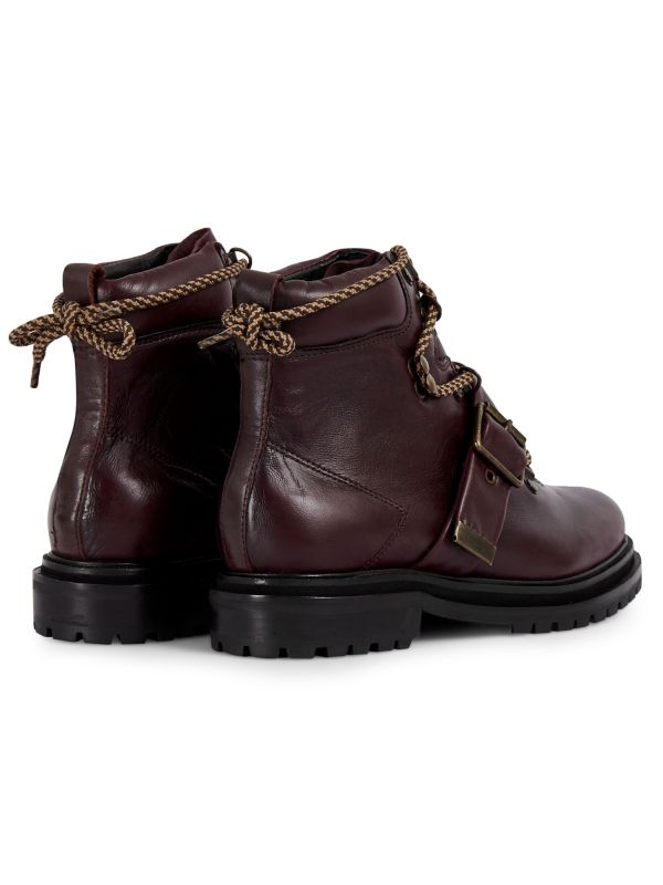 Womens Piper Bordeaux Boot Detail