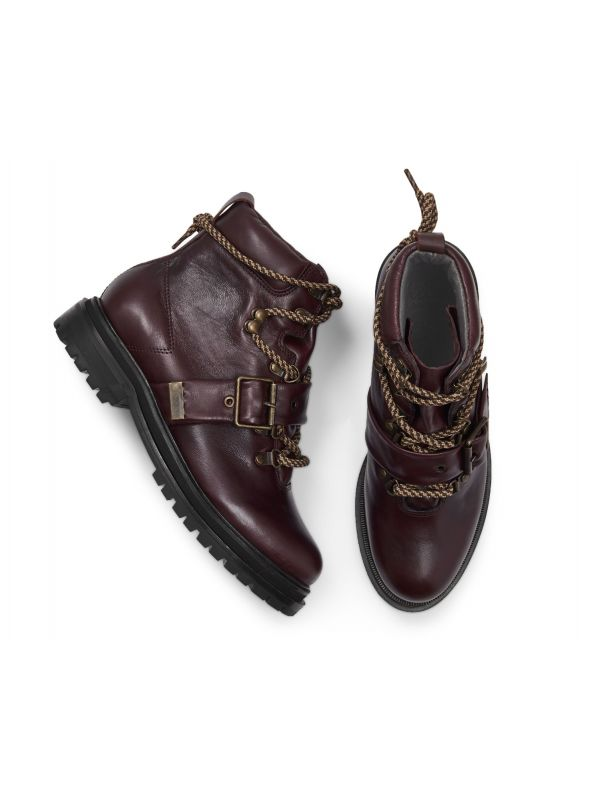 Womens Piper Bordeaux Boot Top