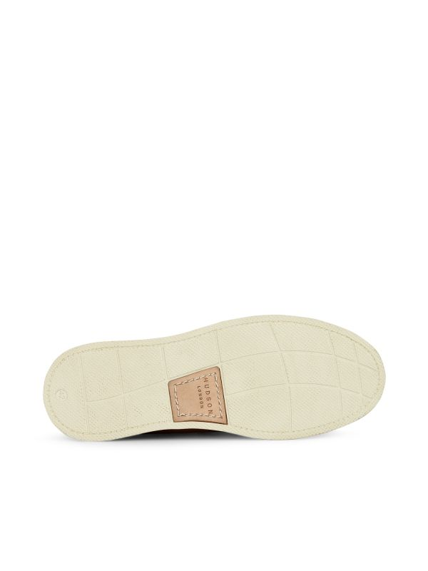 Hudson Mens Copeland Tan Boat Shoe Sole