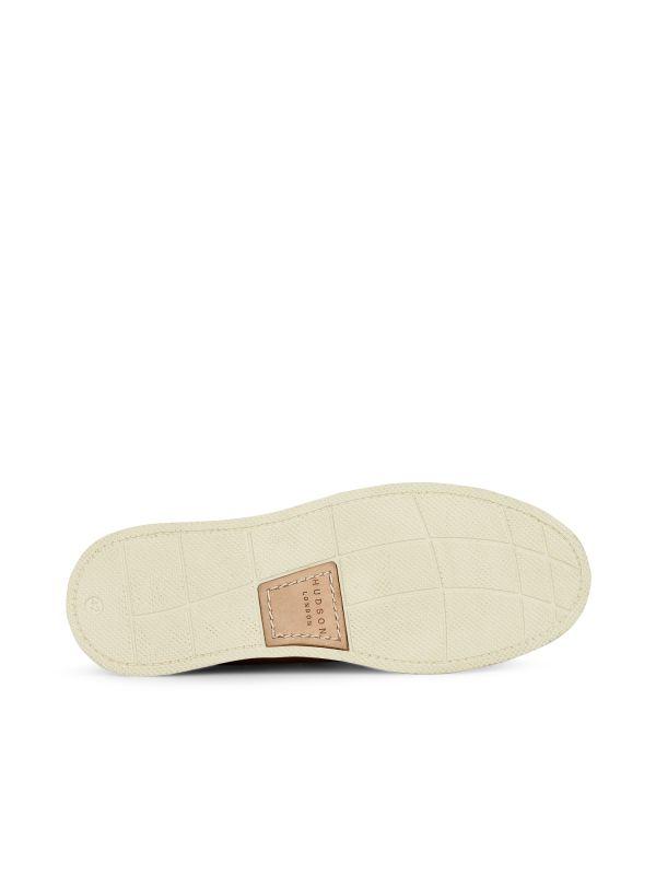 Hudson London Mens Toshan Suede Cognac Shoe Sole
