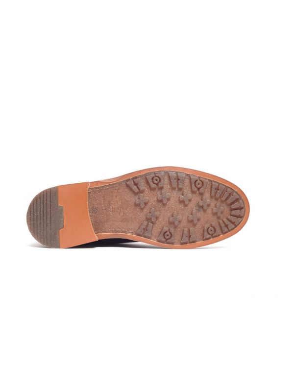Mens Leland Brown Lace Up Boot Sole