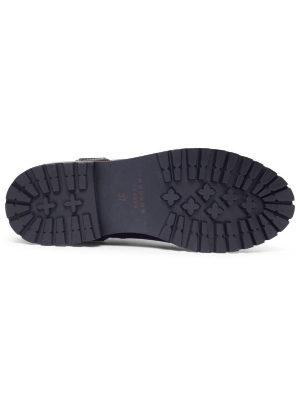 Moss Patent Bordeaux Chelsea Boot Sole