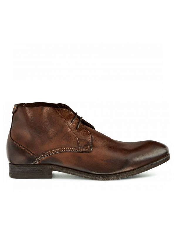 Chukka Boot Osbourne Drum Dye Brown Side View