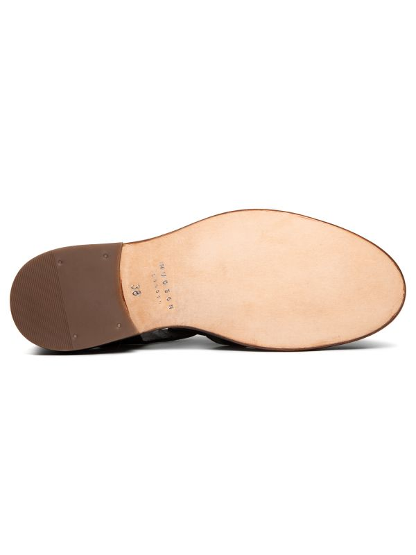 Hudson Womens Sherbert Black Sandal Sole