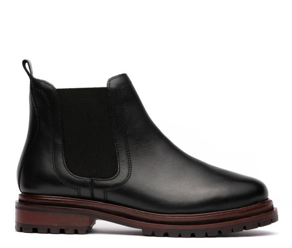 Wisty Black Chelsea Boot