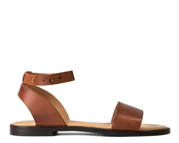 Hudson Womens Anfisa Tan Sandal Side