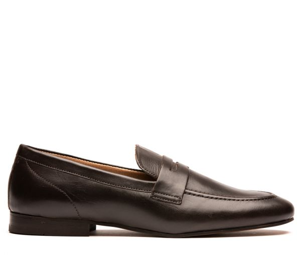 Bolton Brown Saddle Loafer