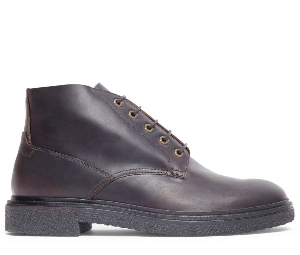 Mens Briggs Brown Chukka Boot Side