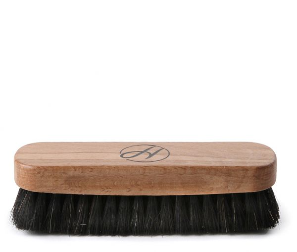 Dark Horsehair Buffing Brush
