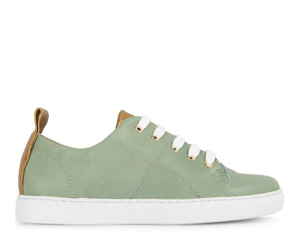 Womens Hudson London Sierra Mint Sneaker Side