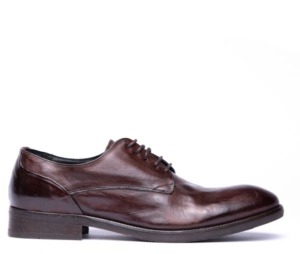 Dorsay Brown Derby Shoe