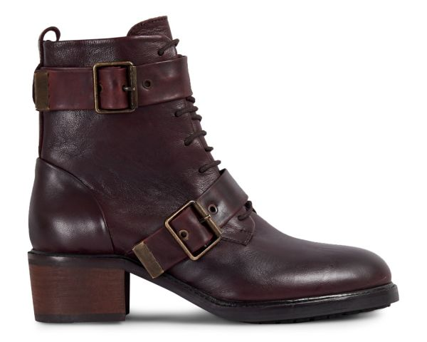 Womens Stanton Bordeaux Boot Side