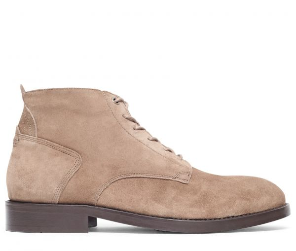 Morris Suede Taupe Boot