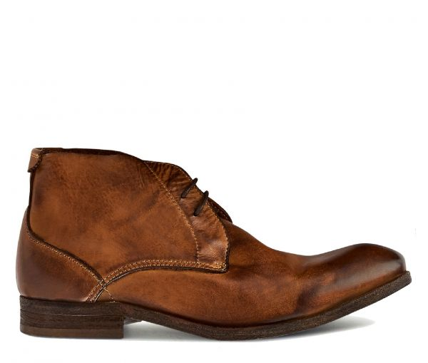 Chukka Boot Osbourne Drum Dye Tan Side View
