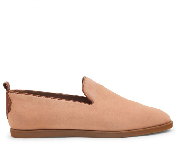 H by Hudson Parker Suede Blush Loafer Side